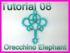 Chiacchierino ad Ago: TUTORIAL 08 - Elephant earrings
