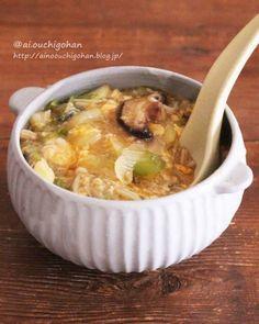 メール in 2020 Paleo Keto Recipes, Soup Recipes, Diet Recipes, Cooking Recipes, Healthy Family Meals, Food Menu, Japanese Food, Soups And Stews, Asian Recipes