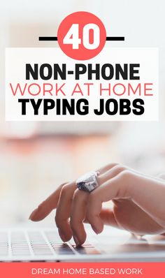 Are you looking for a work at home typing job  These 40 legit typing  companies 19f5274f13e