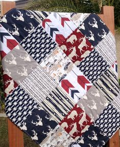 The animal patterns on this one are cute. Colors are more patriotic than what I want :)