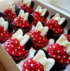 Disney themed cupcakes                                                                                                                                                      More