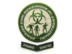 cool zombie patch