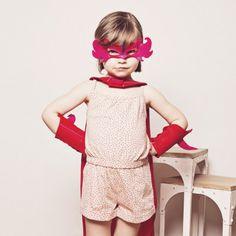 Déguisement - Kit de super fillette  Chamaléon 55 €