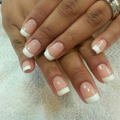 Nail Designs With French Manicure - http://www.mycutenails.xyz/nail-designs-with-french-manicure.html