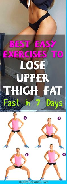 Excessive fat on the upper thighs will take a considerable effort to burn away. It should be noted that the body burns fat evenly across the body, so there is rarely best exercise to lose upper thi…