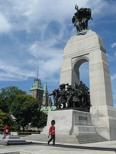 Image 6 of 8 from gallery of How Will Future Generations Respond to Modern-Day Memorial Architecture? Tomb of the Unknown Soldier at the National War Memorial in Ottawa, Canada. Image via Wikimedia Commons Ottawa Canada, Canada Eh, Ottawa Ontario, Canada Ontario, Montreal Canada, Alberta Canada, Memorial Architecture, Wilfrid Laurier, Capital Of Canada