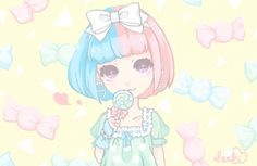 candy☆☆ #fairy kei,#harajuku,#candy,#kawaii,#pastel,#bow