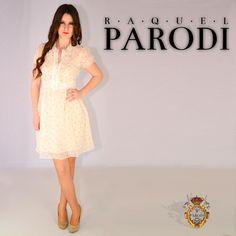 Alexandra Collado posa para con Vestido estilo Vintage para Raquel Parodi Trapillo, Hipster Stuff