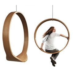 PRODUCTS :: LIVING & DESIGN :: Furniture :: Relaxing armchairs :: Circle swing I Rocking Chair - Design products from around the world - DESIGN FORUM SHOP