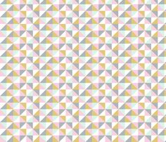 Geometric - girls fabric by createstyledecorate on Spoonflower - custom fabric