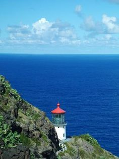 Makapu'u Point Lighthouse-- Located on Oahu's  South end, Makapu'u point offers great views of Rabbit (Manana) Island and Makapu'u beach park.