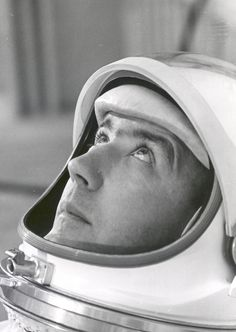Astronaut James A. McDivitt, commander of Gemini IV, suited in preparation for weight and balance tests. The objective of the Gemini IV mission was to evaluate and test the effects of four days in space on the crew, equipment and control systems. Pilot Edward White II successfully accomplished the first U.S. spacewalk during the Gemini IV mission.