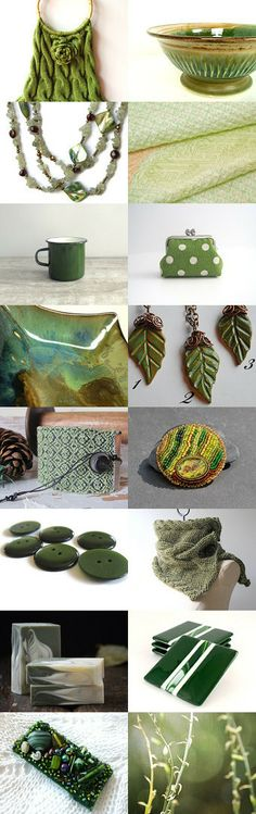 Green Planet by Diane Waters on Etsy--Pinned with TreasuryPin.com