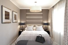 Hans Crescent, Knightsbridge | Laura Hammett. coloration pour chambre des parents.