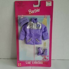 TOP BARBIE DOLL MATTEL VICTORIAN PURPLE CREAM TRIM JACKET COAT BLOUSE ACCESSORY