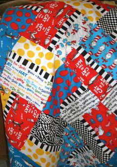 Dr. Suess Blanket