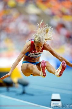 【画像】ダリャ・クリシナ / 世界陸上モスクワ Darya Klishina, Crossfit Body, Triple Jump, Long Jump, Swimming Diving, Muscular Women, Sporty Girls, Action Poses, Sports Photos
