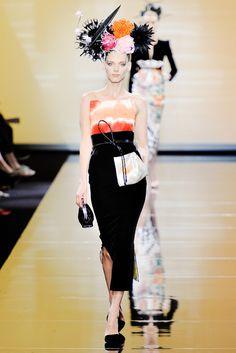 Armani Privé Fall 2011 Couture Fashion Show - Dovile Virsilaite (OUI)
