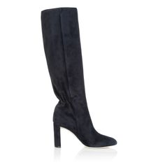 Pleats High Boots Marine