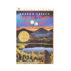 Walk Two Moons (A Newbery Award Book): Sharon Creech Walk Two Moons, 2 Moons, Sharon Creech, Friends Phoebe, Newbery Award, Children's Literature, Read Aloud, Great Books, Childrens Books
