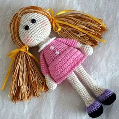 Amigurumi Little Doll - Free Pattern