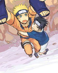 naruto, sasuke, and sasunaru image Sasunaru, Itachi Uchiha, Naruto Y Sasuke, Kakashi Sensei, Naruto Comic, Naruto Cute, Naruto Shippuden Sasuke, Narusasu, Funny Naruto Memes