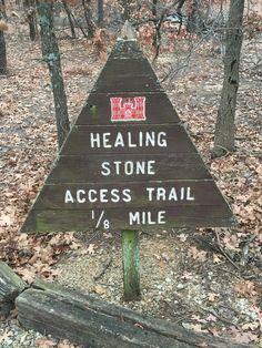 Historical adventures with Joe. The Healing Stone near Skiatook Oklahoma.