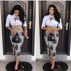 17 Latest Ankara Skirt Styles You Should Check Out African Attire, African Wear, African Women, African Dress, African Print Fashion, Africa Fashion, African Fashion Dresses, Ankara Fashion, Nigerian Fashion
