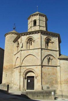 Iglesia del Santo Sepulcro - Torres del Río, Camino de Santiago en Navarra