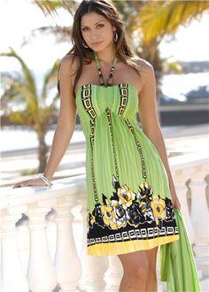 ZONA DE MANUALIDADES: Vestido para verano - free pattern