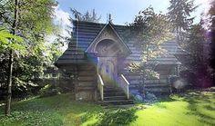 Domek Raj w Zakopanem w dużym ogrodzie z małym stawem z pstrągami, 10 minut spacerem od Krupówek.