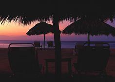 The sun sets on a beautiful day at Jamaica Inn. http://jamaicainn.com/resort/beach.php