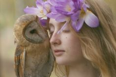 In Her Dream World, Humans And Wild Animals Exist In Perfect Harmony.