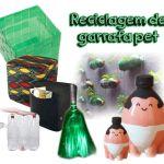 Reciclagem de garrafa pet: 30 ideias criativas - Painel Criativo de 06 de setembro