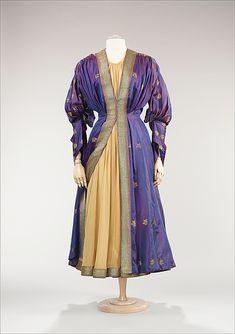 1948, America - Evening dress by Mainbocher - Cotton, silk, metal