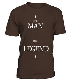 THE MAN, THE LEGEND!  #image #shirt #gift #idea #hot #tshirt #idea