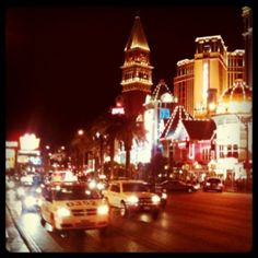 #LasVegas #Strip #Nevada #Traffic #Venetian #Street #Usa