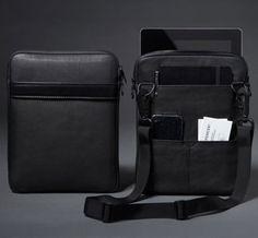 Black Leather iPad 2 Case.
