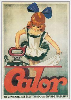 Affiche publicitaire 70x50 CALOR