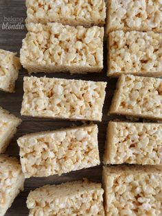Baking with Blondie : Salted Brown Butter Rice Krispies