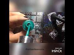 Como fazer esmalte pra carimbo que carimba sobre esmalte escuro! - YouTube