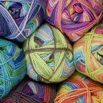 Knit Picks: New  Felici Fingering Self Striping Sock Yarn  75% Superwash Merino Wool, 25% Nylon  Fingering Weight