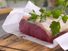 Roastbeef braten - so geht's Schritt für Schritt - roastbeef Rezept