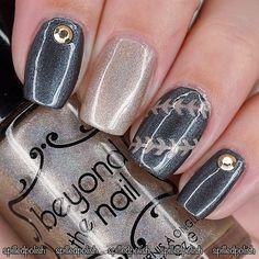 Metallic Nails #notd #nailart #nailpolish