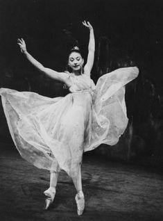 Dame Margot Fonteyn (British Prima Ballerina 1919-1991) in Ondine . A 3 act ballet originally created by Sir Frederick Ashton as a vehicle for Margot Fonteyn