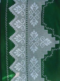 Filet Crochet, Baby Knitting Patterns, Quilts, Blanket, Lace, Handmade, Crochet Curtains, Crochet Edgings, Crochet Diagram