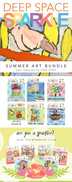 Easy summer art projects to do with your kids. Learn how to draw and paint a bird, ferry boats, pirate ship and much more