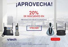 Aprovecha la súper promoción de 20% de descuento en productos seleccionados Vtech sólo en Liger del 10 al 24 de noviembre. compra aquí: http://ow.ly/e9ay3065oIH