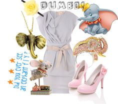 """Disney Dumbo"" by sophiedee11 on Polyvore"