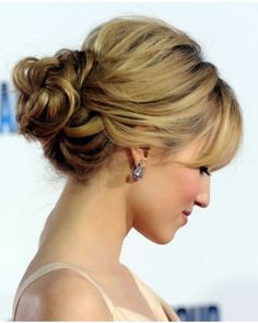 Sophisticated up do